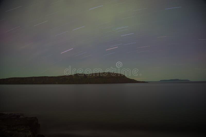 北美驯鹿海岛桑德贝,安大略,加拿大 库存图片