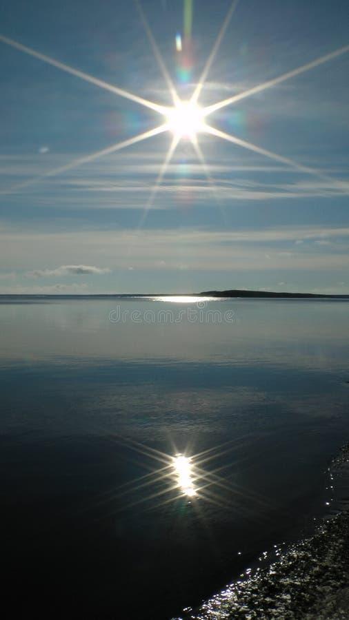 北部太阳 库存图片