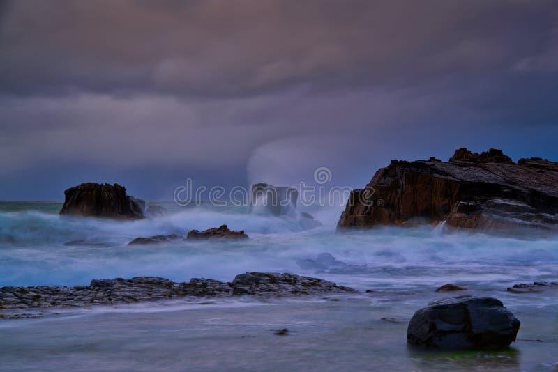 北部安特里姆风暴 库存图片