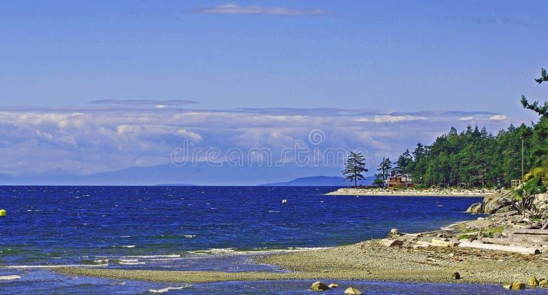 北部泥工的海滩 库存图片
