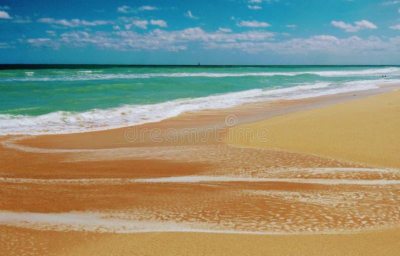 北部海滩 免版税库存图片