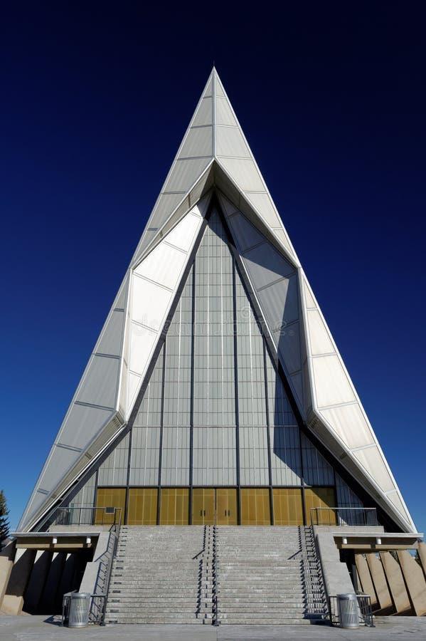 北部空军学院的教会 免版税库存图片