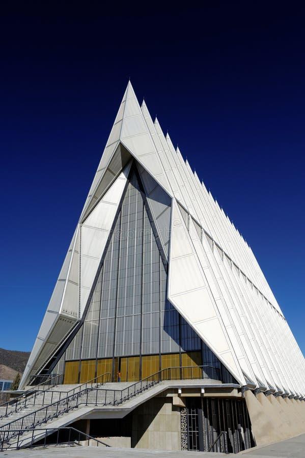 北部空军学院的教会 库存照片