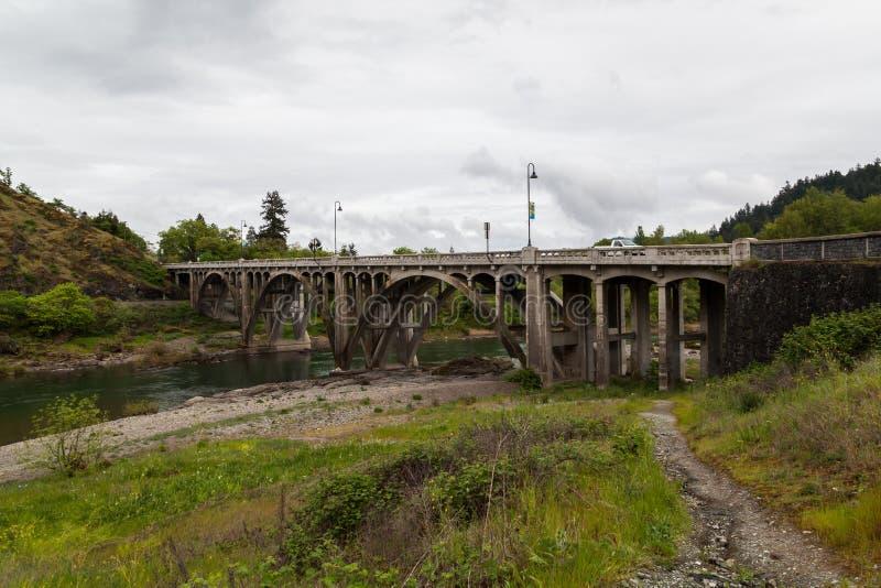 北部缅街桥梁 库存照片