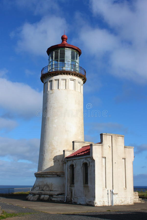 北部顶头灯塔 库存照片