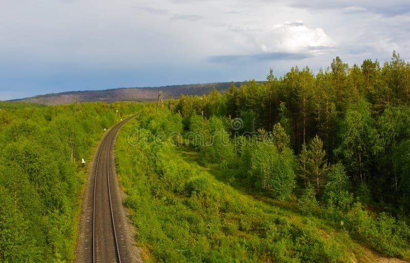 北铁路 免版税库存图片