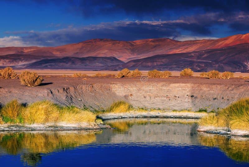 北阿根廷 库存图片