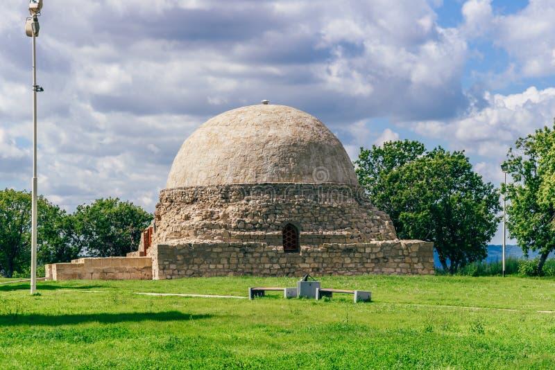 北陵墓在Bolghar 图库摄影