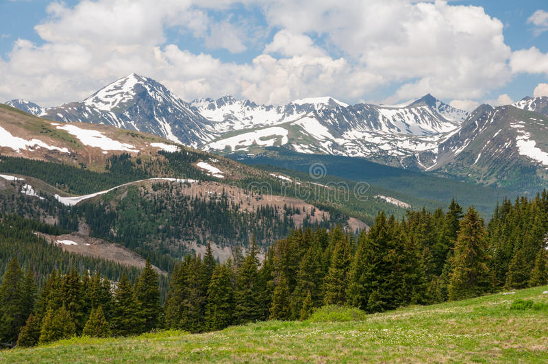 北风之通行证科罗拉多 免版税图库摄影