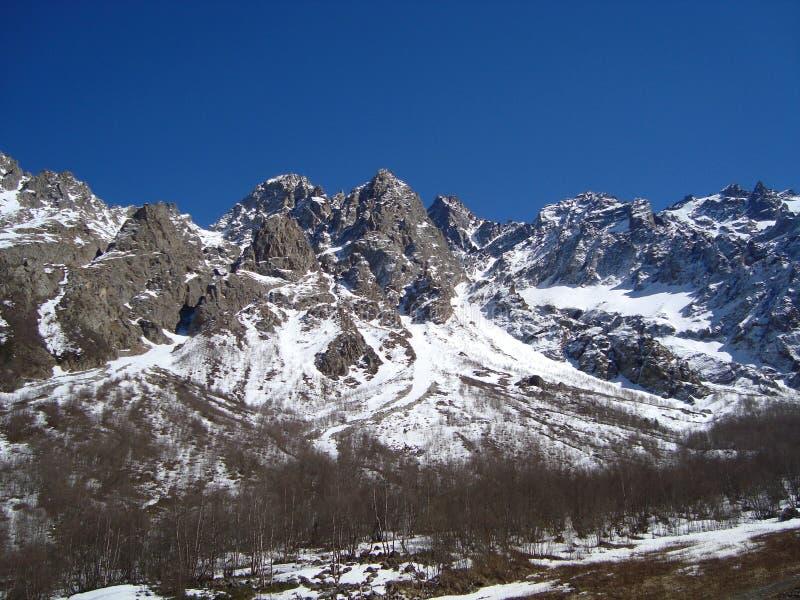 北高加索的Tseyskoe谷 库存图片