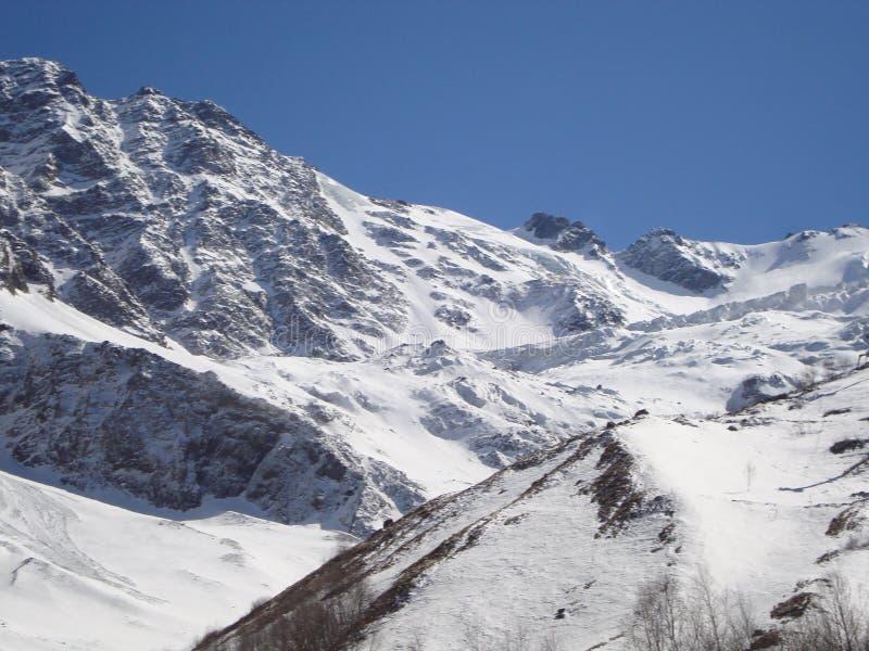 北高加索的Tseyskoe谷 免版税库存图片