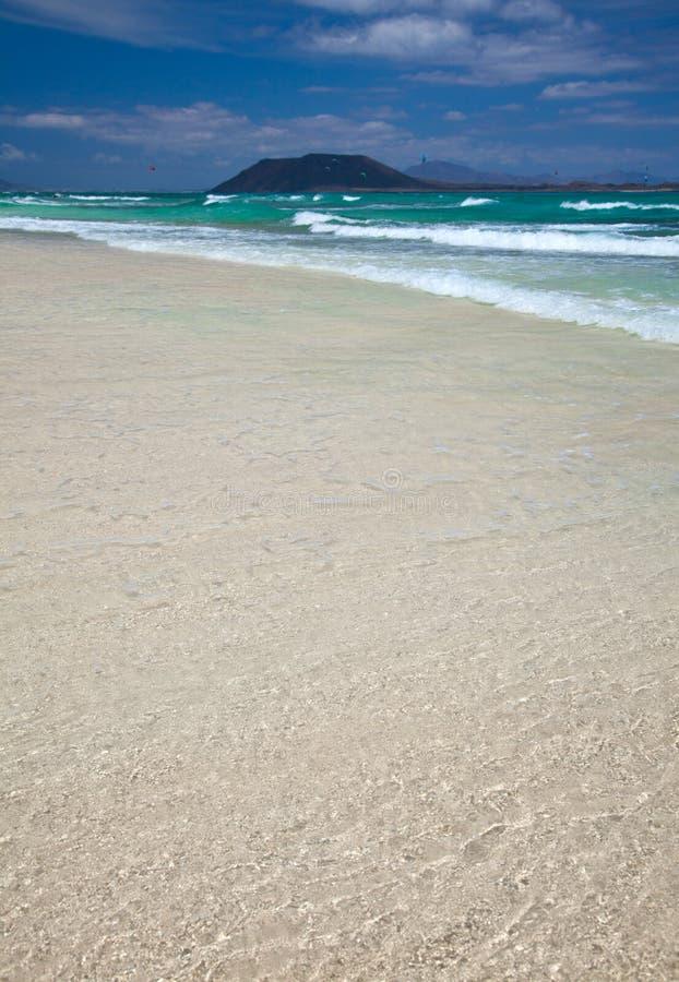 北费埃特文图拉岛 免版税库存照片
