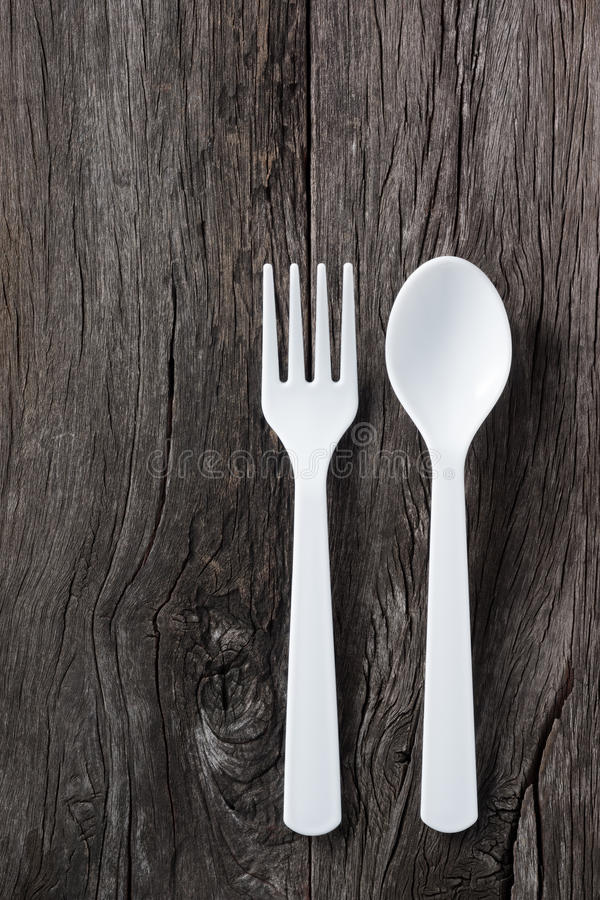 匙子和叉子 免版税图库摄影