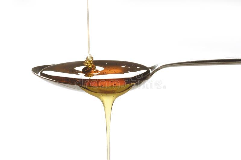 匙子糖浆 免版税库存图片