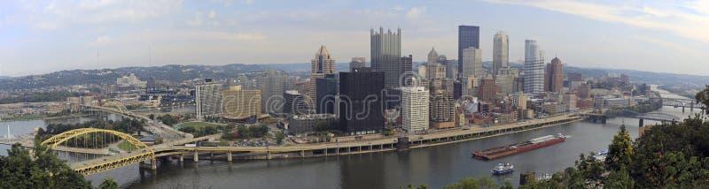 匹兹堡全景 库存照片
