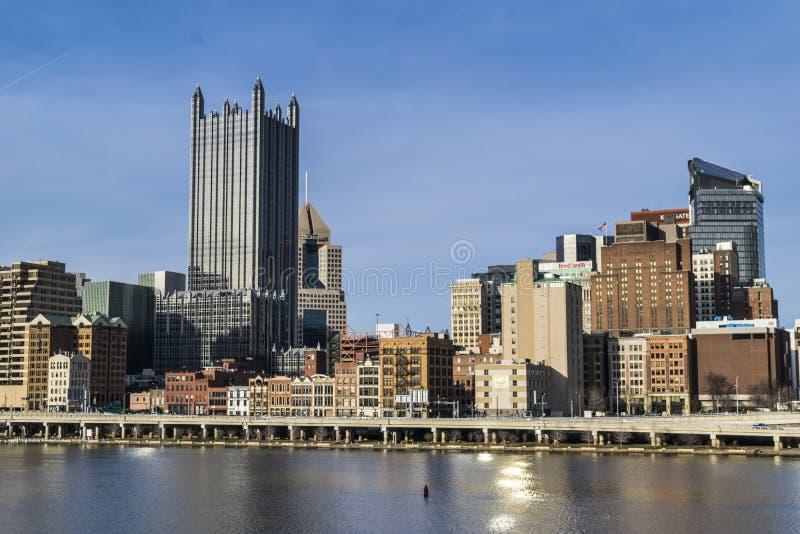 匹兹堡地平线 图库摄影