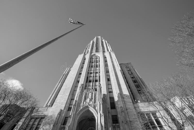 匹兹堡大学 库存照片