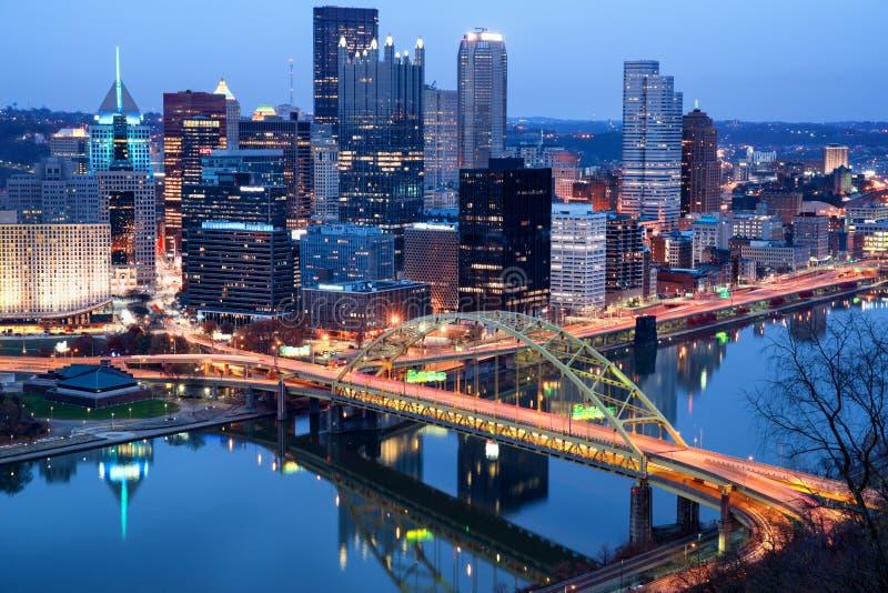 匹兹堡看法  宾夕法尼亚,美国 库存图片