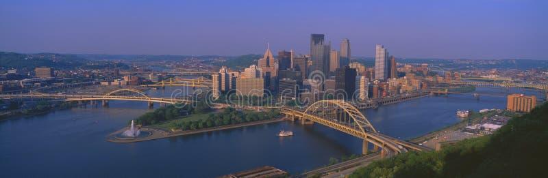 匹兹堡视图  免版税图库摄影