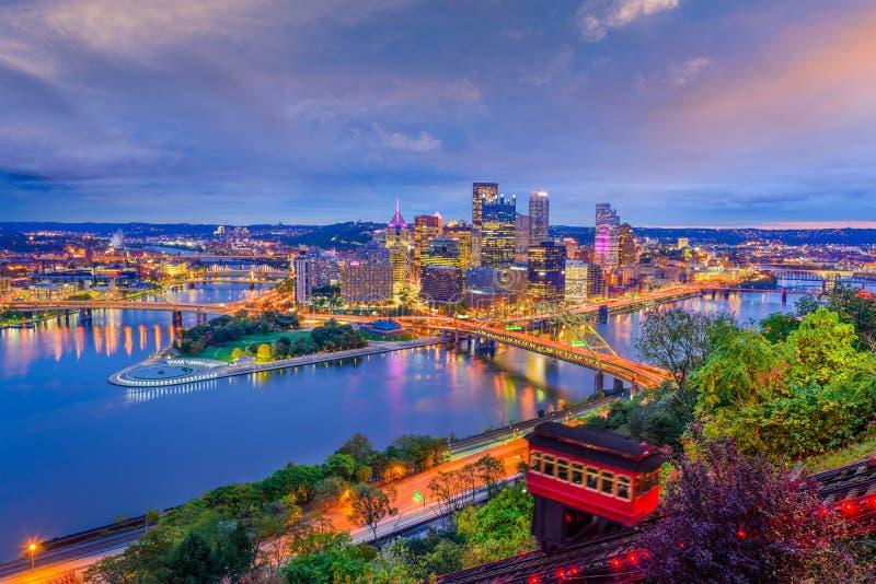 匹兹堡,宾夕法尼亚,美国 免版税库存图片