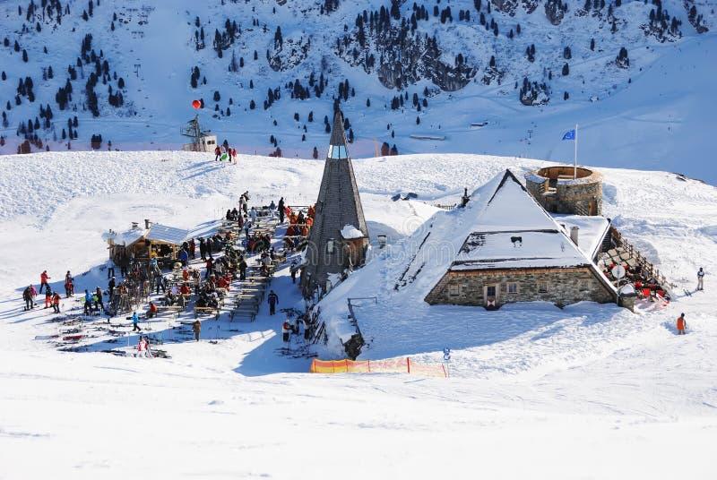 区消遣滑雪 免版税图库摄影
