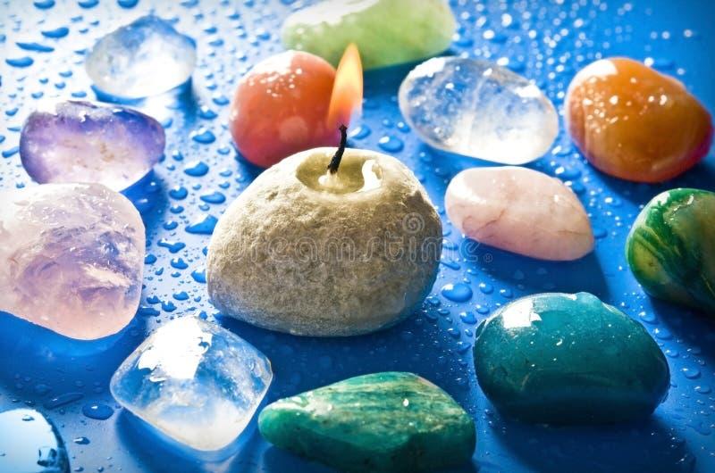 医治用的石头 免版税图库摄影