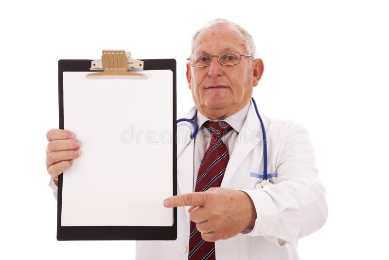 医生专门技术 免版税库存图片