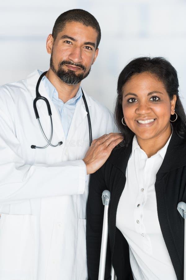 医生在医院 免版税图库摄影