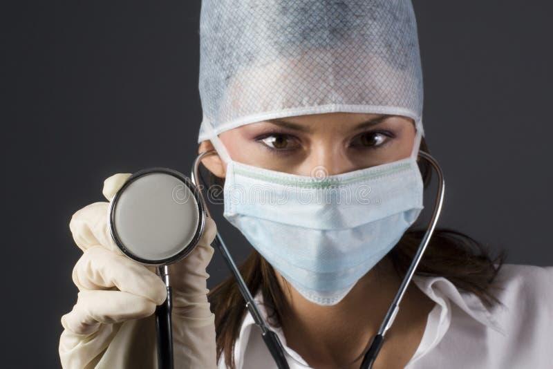 医生女性 免版税图库摄影