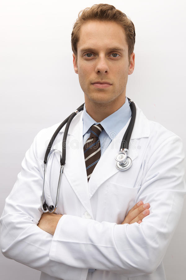 医生年轻人 库存图片