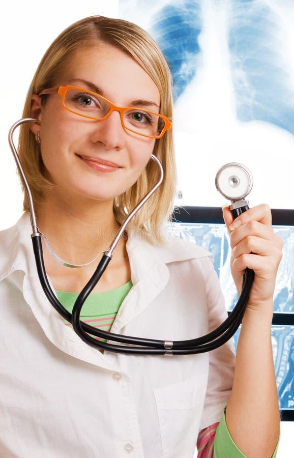 医生年轻人 免版税图库摄影