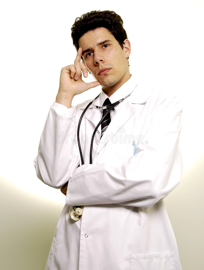 医生年轻人 图库摄影