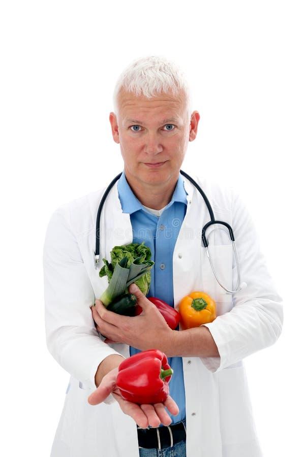 医生蔬菜 库存图片