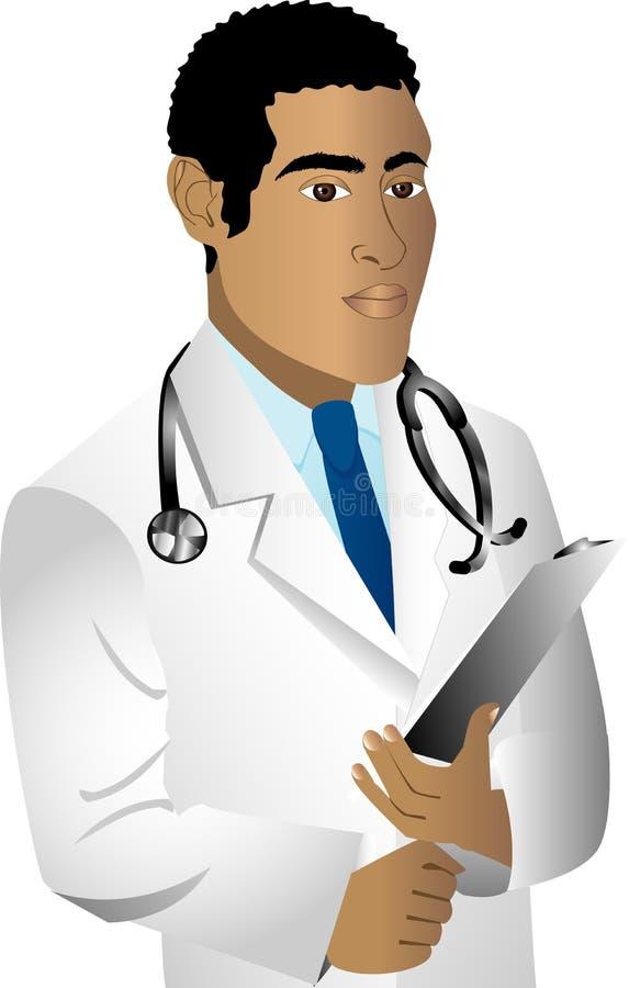 医生 向量例证