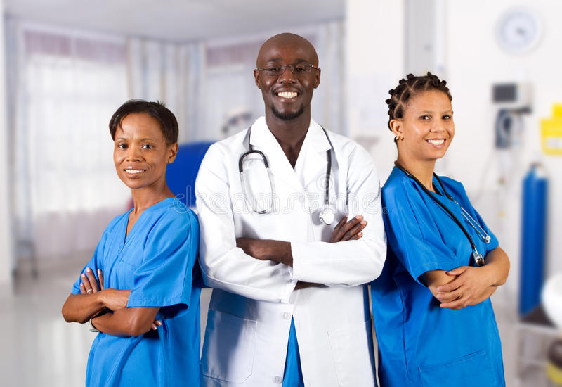 医疗专业人员 免版税库存图片