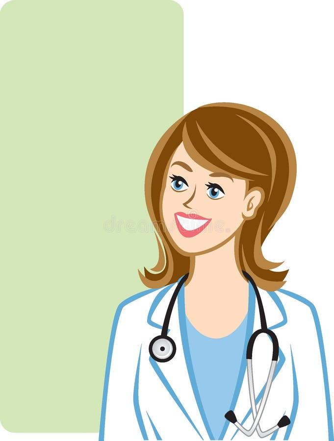 医疗专业人员 库存例证