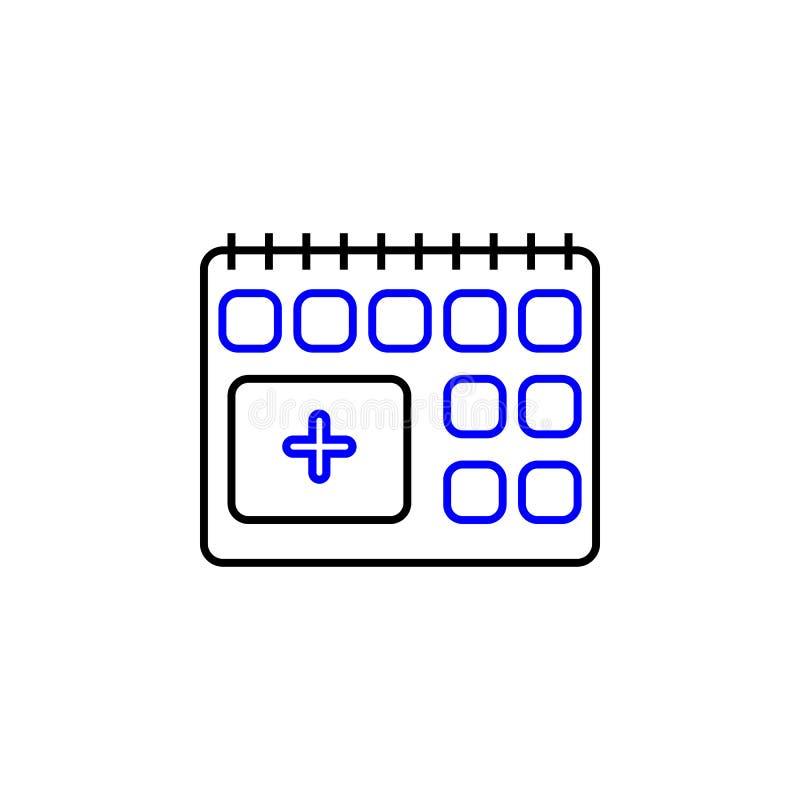 医疗任命象 r 可以使用详述的医疗任命象 库存例证