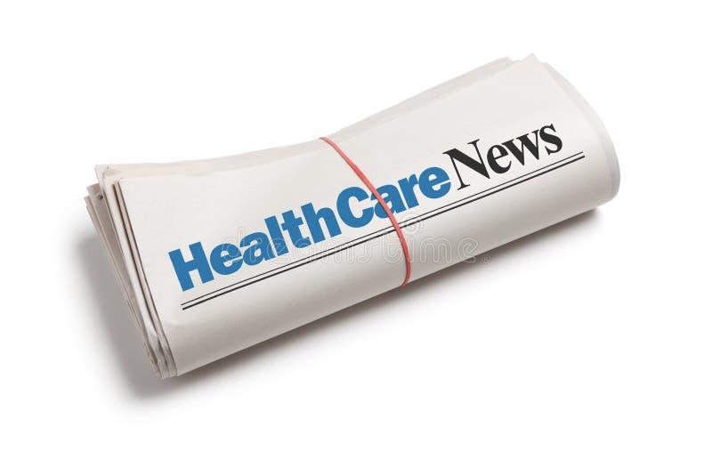 医疗保健新闻 免版税图库摄影