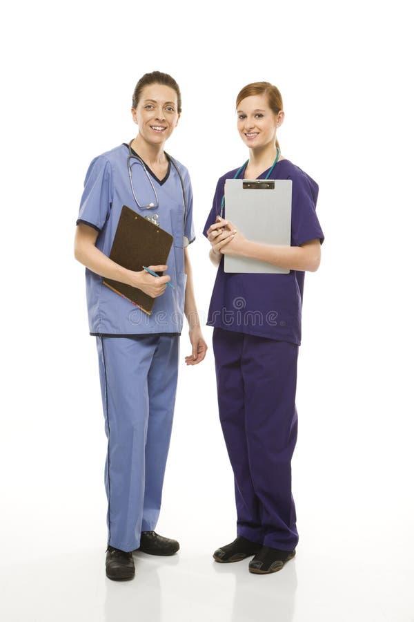 医疗女工 库存图片