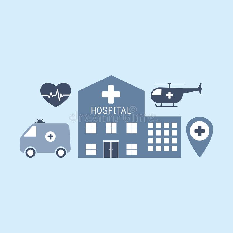 医疗平的传染媒介背景,医疗保健,急救 向量 库存例证