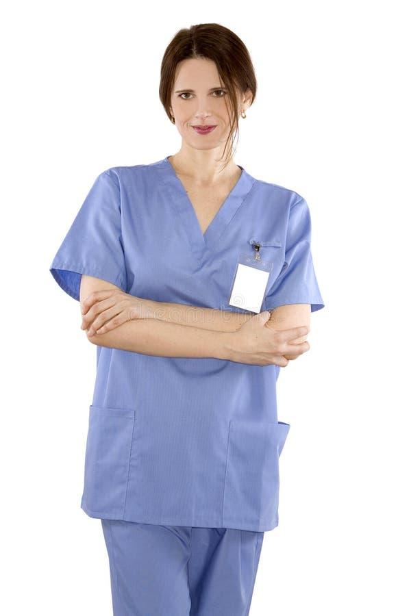 医疗护士 免版税库存照片