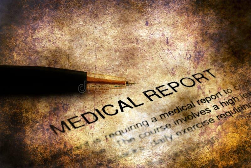 医疗报告难看的东西概念 免版税库存照片