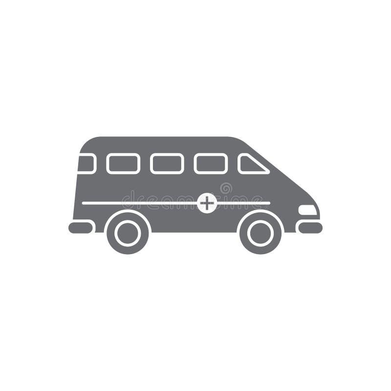 医疗机器象 简单的元素例证 从运输汇集集合的医疗机器标志设计 能为我们使用 向量例证