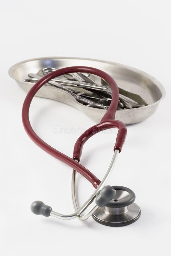 医疗的仪器 免版税库存图片