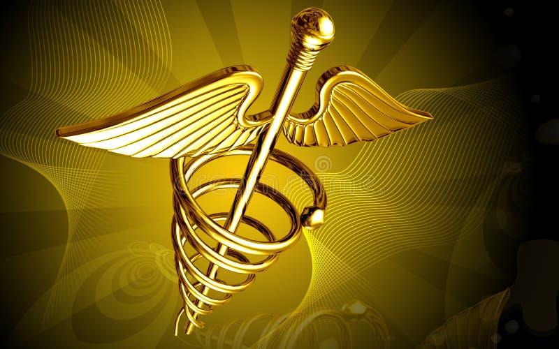 医疗的徽标 皇族释放例证