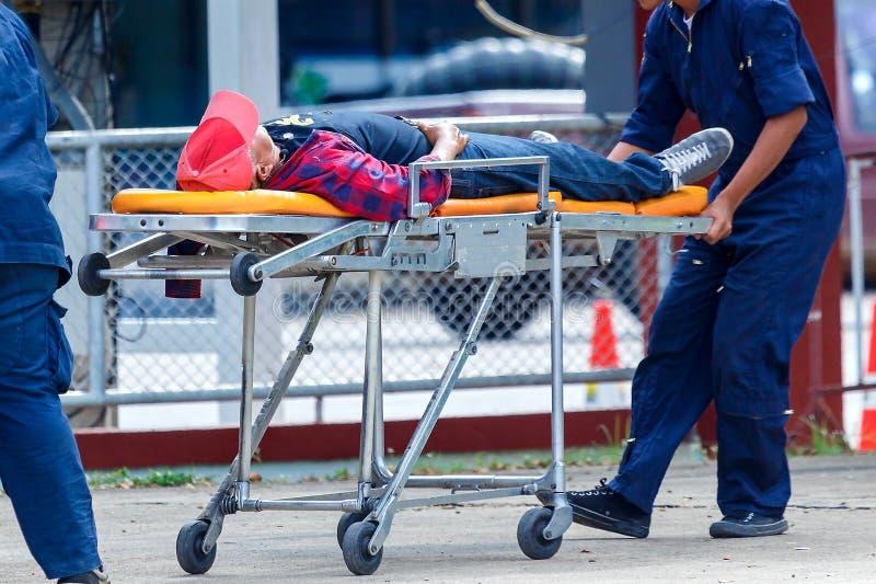 医疗的急救工作和的紧急状态 库存照片