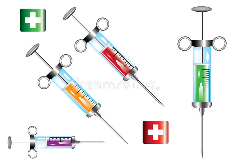 医疗的要素 向量例证