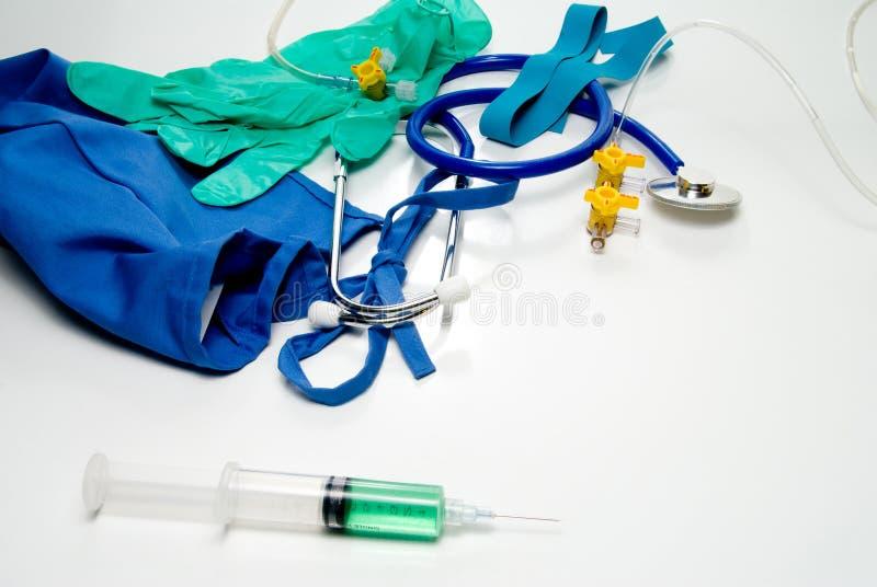 医疗的设备 免版税库存照片