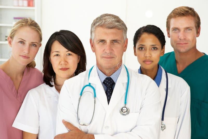 医疗纵向专业人员 库存照片