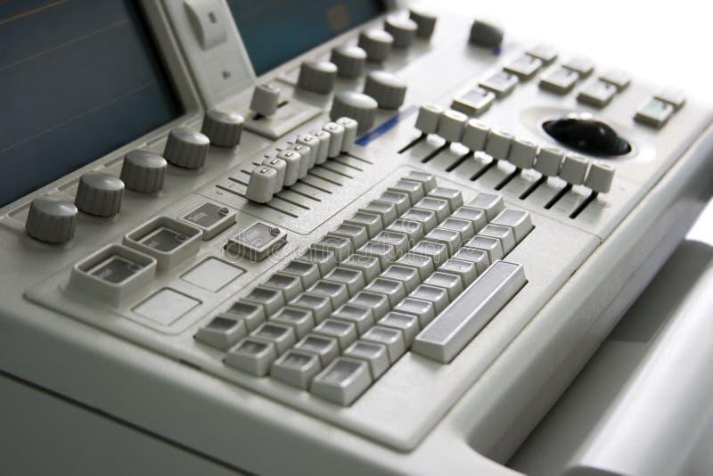 医疗设备的关键董事会 免版税库存图片